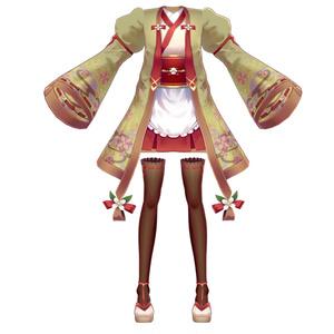 【Vroid用衣装テクスチャ】メイドのおしゃれな衣装セット