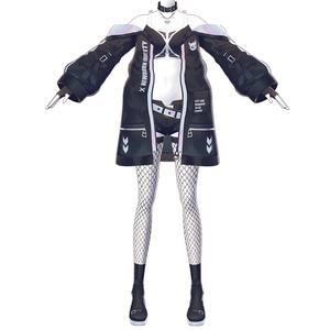 【Vroid用衣装テクスチャ】ブラックレベリオン衣装セット