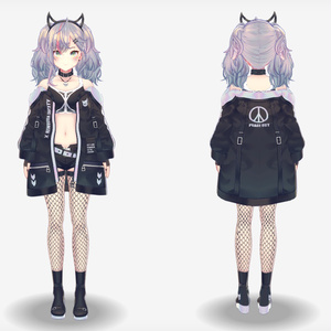 【VRoidVRMモデル】マリベル