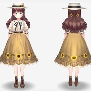 【VRoidVRMモデル】ナナコ