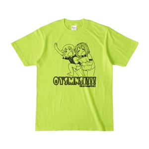 OYSMNSI Tシャツ ライトグリーン