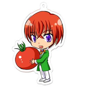 野菜くんアクリルキーホルダー(トマト)