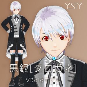 VRoidモデル 黒銀(クロガネ)