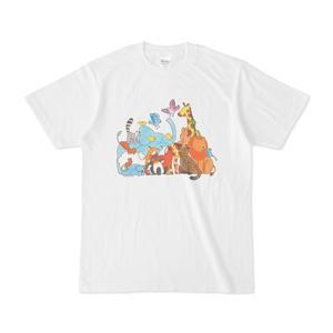 『109ひきのどうぶつマラソン』Tシャツ