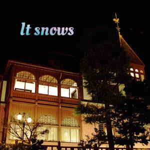 It snows