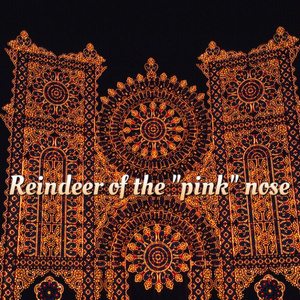 """Reindeer of the """"pink"""" nose"""