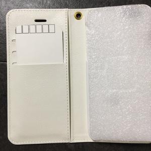 iphone6(6s)**美品・プリント難有り**オニオオハシUP柄手帳型スマホカバー
