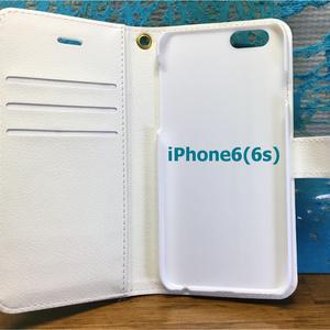 iphone6(6s)オニオオハシUP柄手帳型スマホカバー
