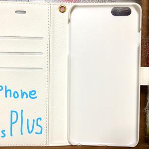 手帳型スマホカバー BIRDMIXモノクロ/カラー iPhone6Plus/6sPlius