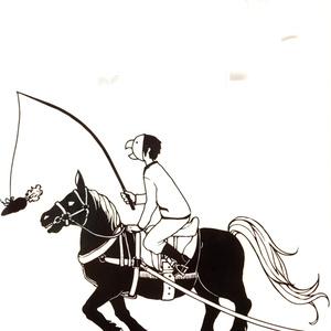 モノクロファイル 馬車