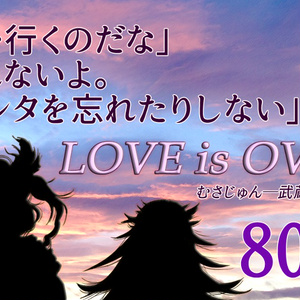 『LOVE is OVER』-武蔵と隼鷹-【むさじゅんSS・PDF版】