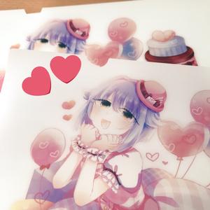 ♡幸子♡クリアファイル