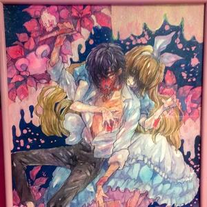 原画「アリスの亡霊、ジャバウォック。」