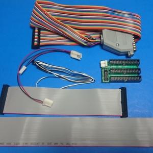 X68000 HxC等 起動ドライブ変更 完成基板とケーブルのセット