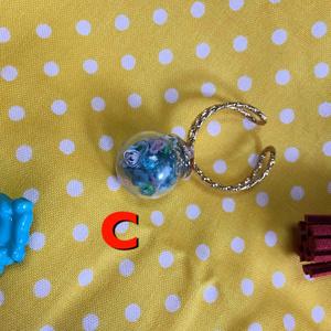 ガラスドームリング・ストラップ★サンズ&パピルス