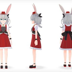 【3Dモデル】赤間リユ