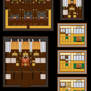 神社仏閣、和室用素材集更新(17.02.23)