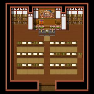 古代寺院風タイルセット素材(17.04.15)