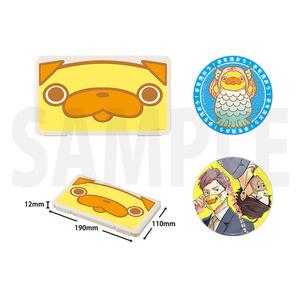 ★再販★「おじさんはカワイイものがお好き。」マスクケース&缶バッジ(2個)セット