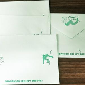 「邪神ちゃんドロップキック」特製レターセット 「邪神ちゃんドロップキック千歳編」フレーム切手付き