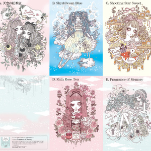 天空の紅茶店カード(単品)