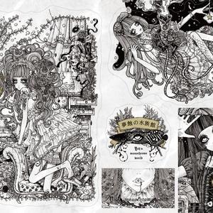 ステッカーシート 「夢蝕の魚図鑑」
