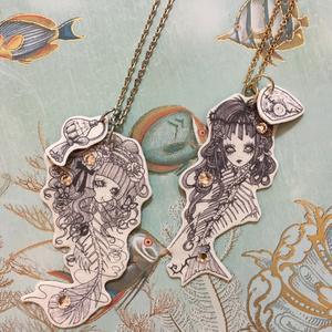 夢蝕の水族館ネックレス*5魚
