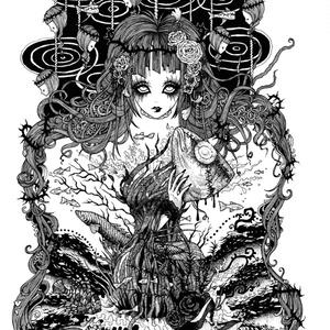 画集「夢蝕の魚図鑑」2