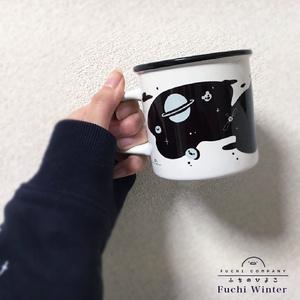 ふちのひよこのギャラクシーマグカップ