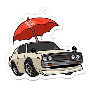 傘とケンメリアクリルキーホルダー