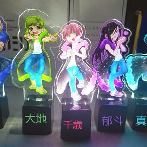 光る☆バースデーアクリルフィギュア