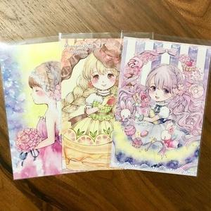 「桜・オランジェット」ポストカード3枚組み