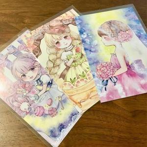 【選べるポストカード】ウエディング・オランジェット・桜