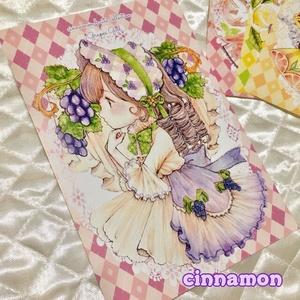 【選べるポストカード】フルーツ娘