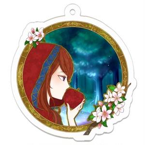 【アクキー】林檎アクリルキーホルダー シア