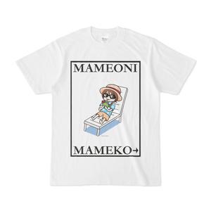 まめ公Tシャツ no.6