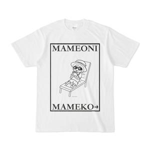 まめ公Tシャツ no.6-2