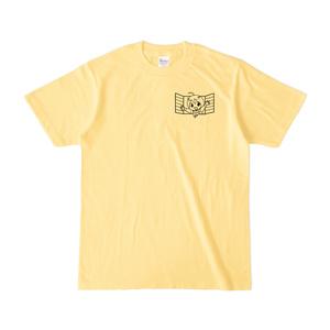 まめ公Tシャツ no.1-2 ライトイエロー