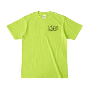 まめ公Tシャツ no.1-2 ライトグリーン