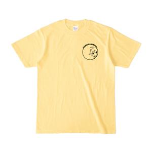まめ公Tシャツ no.5-2 ライトイエロー