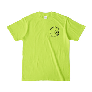 まめ公Tシャツ no.5-2 ライトグリーン