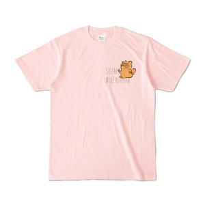 Mr.ヌーキー Tシャツ (ライトピンク)