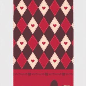 赤降イメージスマホケース(ハードタイプ)iPhone用