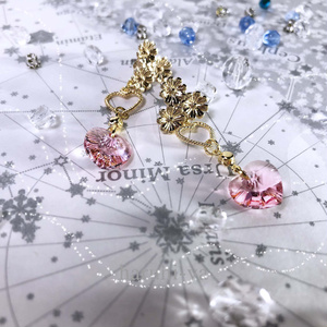 Flower bloom・LovefloweR~coLor of heaRt~ピアス