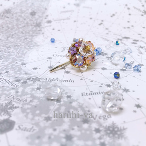 Flower bloom・ガーベラ・ポニーフック