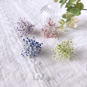 【限定】Flower bloom・春を待つ星の花・ピアス