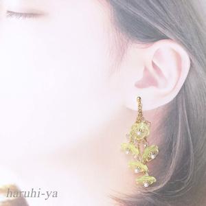【限定】Flower bloom・AquareLle-flEur・ピアス