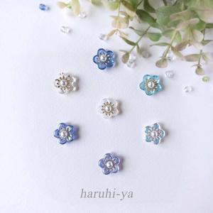 【限定】Petite-lab・Fleur de prunier~天球生花~・ピアス