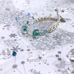raindrop・Arabian-Blue・ブレスレット