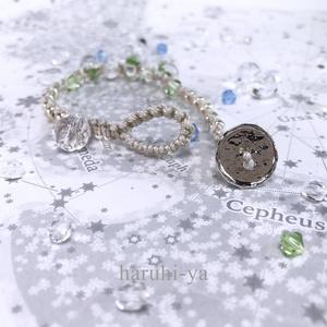 raindrop・Fjord-Green・ブレスレット